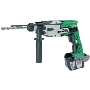 Buy Hitachi DH14DL/JL 14.4V SDS-Plus Hammer Drill - 2 x 3.0Ah Lithium-Ion Batteries