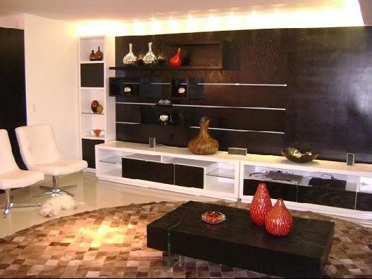 decoracao de interiores belo horizontePainel para tv parede inteira