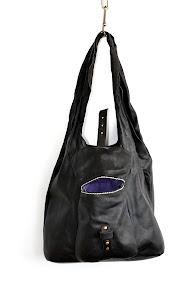 Кожаная сумка-мешок с карманом № 12 East