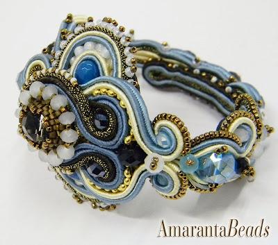 Soutache Bracelet by Amaranta Beads