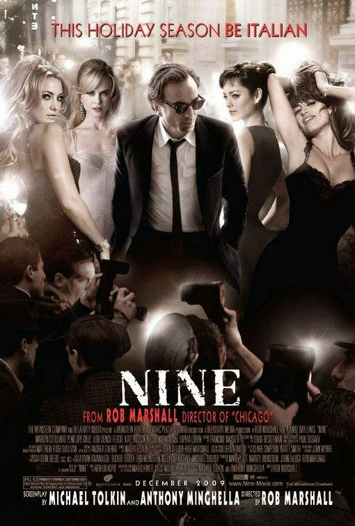 Poster Of Nine (2009) Full Movie Hindi Dubbed Free Download Watch Online At Alldownloads4u.Com