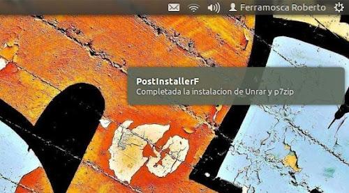 PostinstallerF su Ubuntu 12.04 Precise