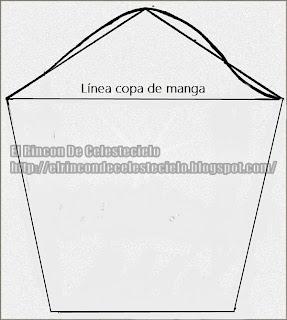 Patrón manga básica