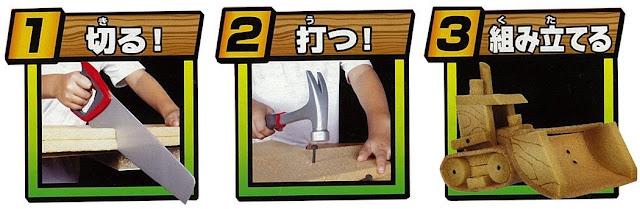 dễ dàng thú vị cùng Bộ đồ chơi thợ mộc cơ bản Real Construction Starter Workshop