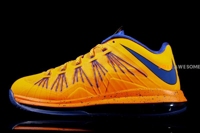 nike lebron 10 low gr orange blue 2 08 Nike Air Max LeBron X Low HWC (579765 800) New Photos