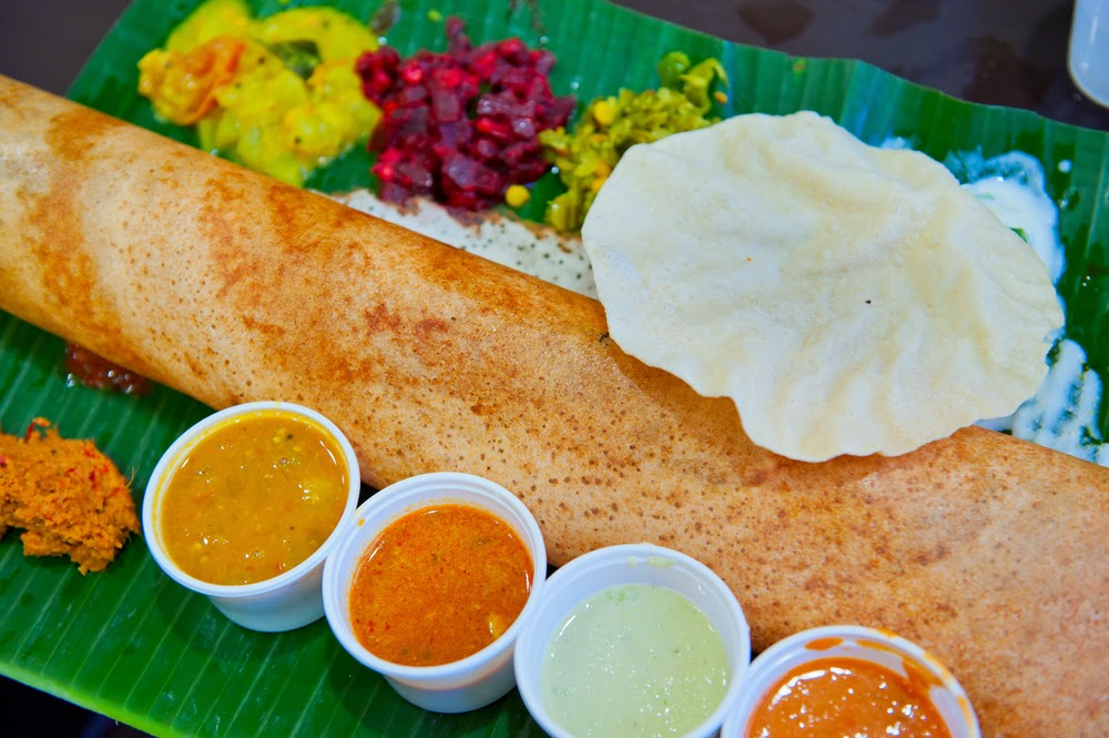 Dosa - one of the traditional South India food