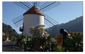 die Windmühle von Mogan