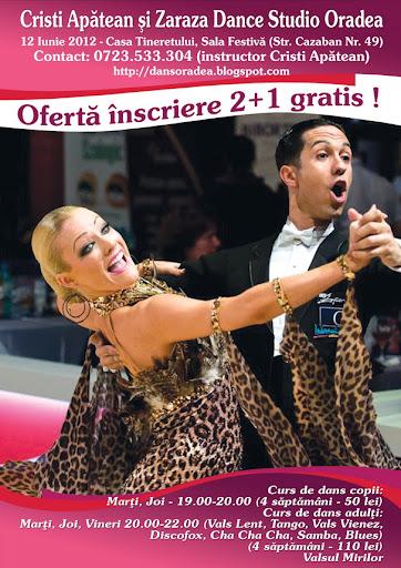 curs de dans Oradea, curs de dans pentru adulti Oradea, curs de dans de societate Oradea, iunie 2012
