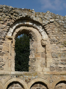 Leper Chapel window arch