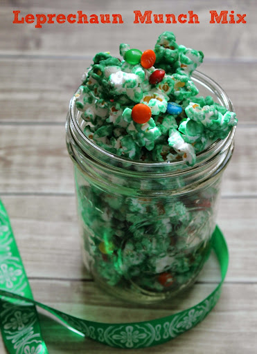 Leprechaun Munch Mix Recipe for St. Patrick's Day