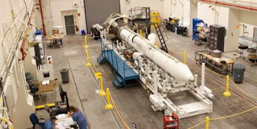 Las Tower Complete In Preparation For Orion First Mission