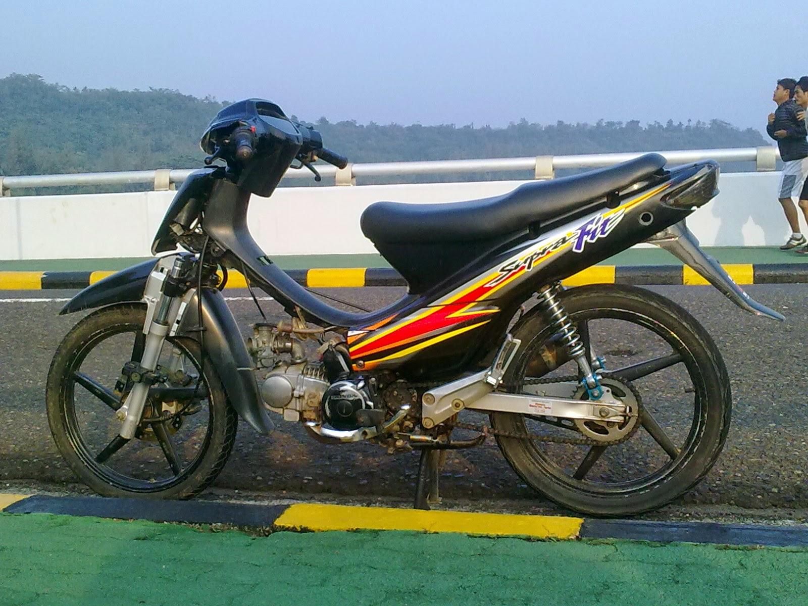 Cara Modif Yamaha X Ride