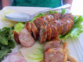 Sai Ua Northern Thai sausage Manao PDX Thai restaurant Portland Chef Chew