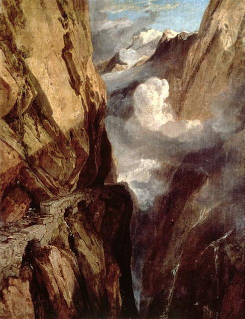 William Turner 1775-1851   British Romantic landscape painter