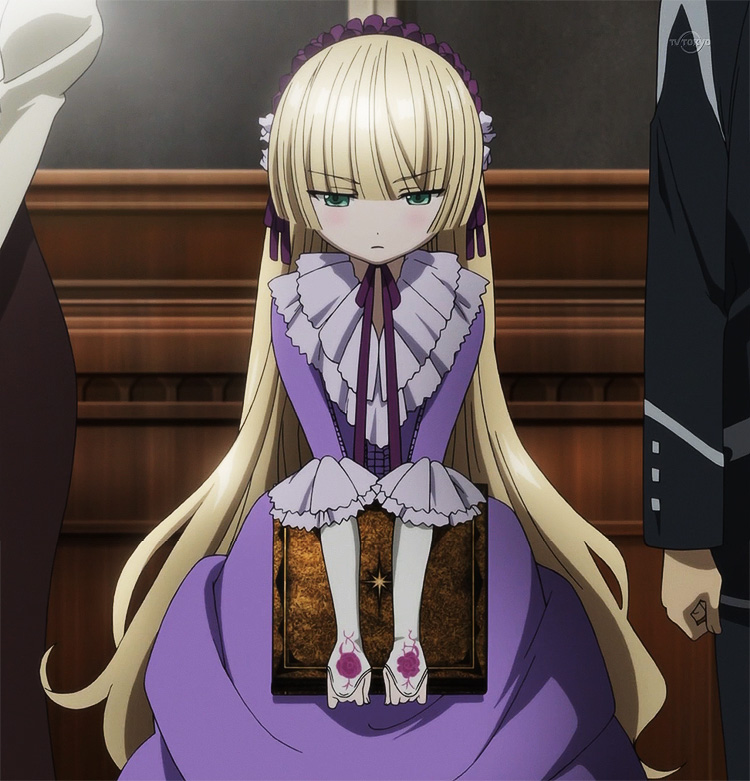 Gosick Victorian dress-Victorique purple