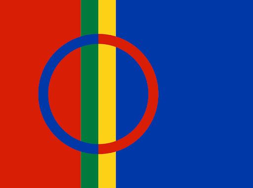 Саамский флаг