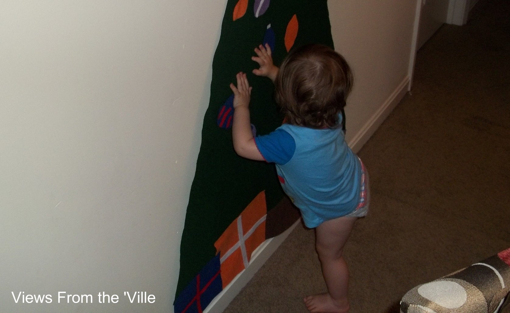DIY Felt Christmas Tree Activity For Kids