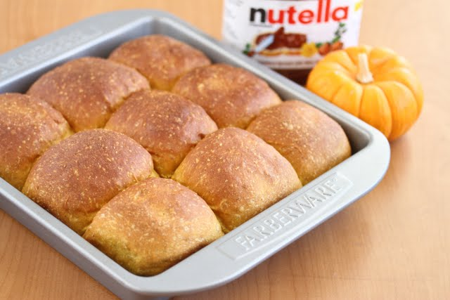 Gluten Free Pumpkin Roll With Mascarpone And Nutella Filling Recipes ...