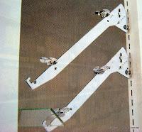 裝潢五金 品名:傾斜支架 規格:25/30/35/40/45CM 顏色:銀色 玖品五金