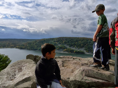 Overlook on the East Bluff trail