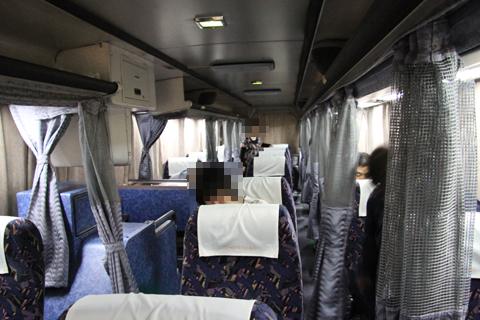 名鉄バス「名古屋~松山線」 2701 車内(イメージ)