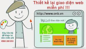 Thiết kế Website Miễn Phí cho khách hàng đã có web rồi !