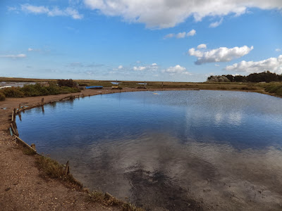 Brancaster Staithe tidal pool