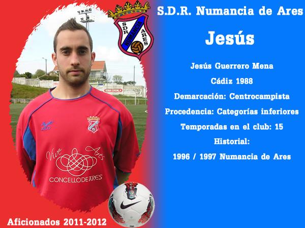 A.D.R. Numanciad de Ares. Jesús.
