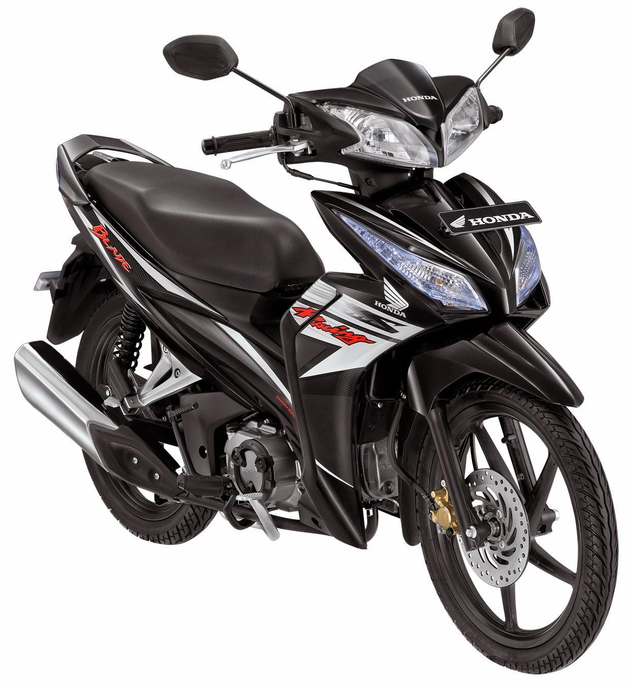 Modifikasi Honda Blade Cw