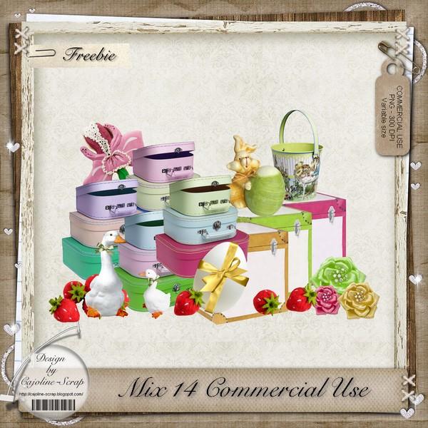 MIX 14 Commercial Use Cajoline_mix14cu_pv