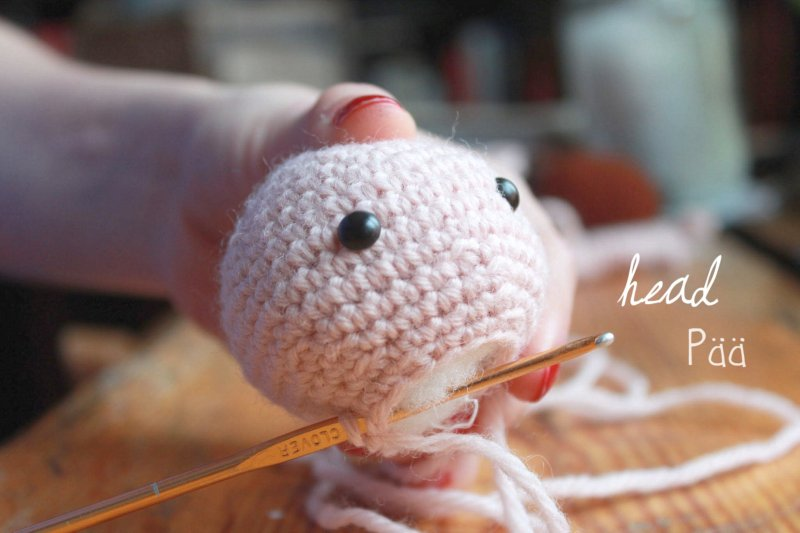 Amigurumi Squirrel Girl pattern assembly guide The Sun ...