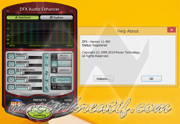 DFX Plus Audio Enhancer v11.400