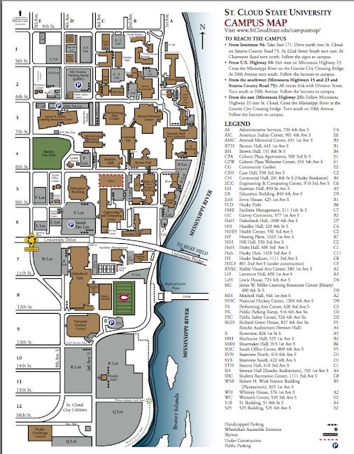 Scsu Campus Map