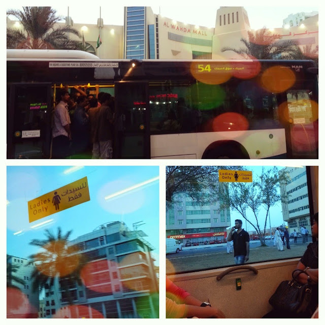Travel Journal to Abu Dhabi UAE by ServicefromHeart public bus