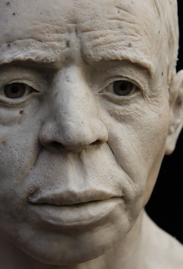 Near East: Face of 9,500 year old Neolithic man from Jericho reconstructed
