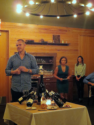 AJ Kemp, storyteller and winemaker for Hawks View Cellars