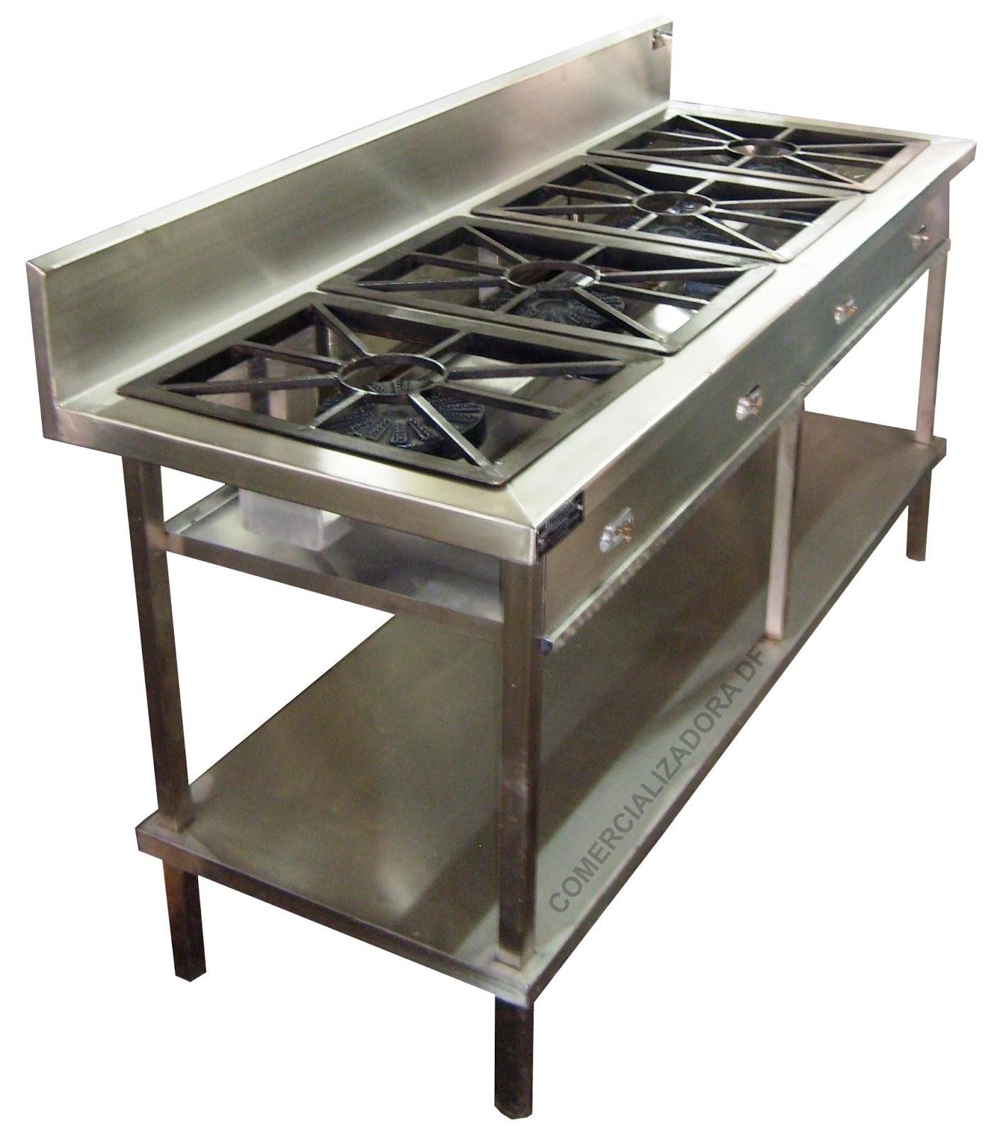 Soluchef estufas y estufones for Estufas industriales