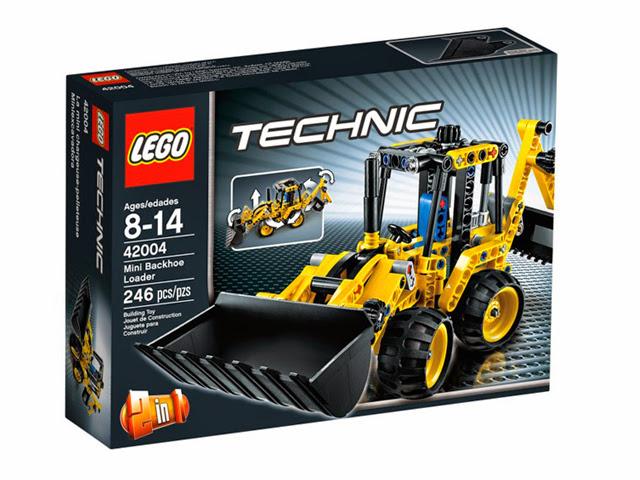 42004 レゴ テクニック ミニバックホーローダー