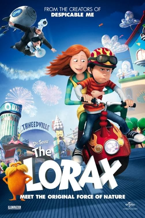 Poster Of The Lorax (2012) Full Movie Hindi Dubbed Free Download Watch Online At Alldownloads4u.Com