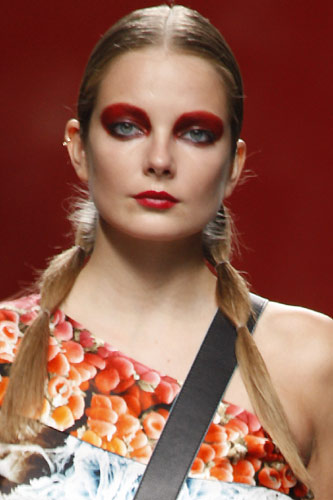 Cibeles Madrid Fashion Week: 2012 Beauty-Trends
