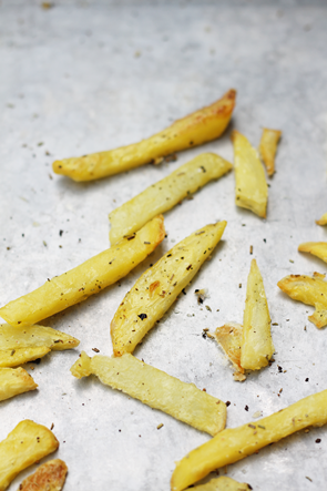 homemade rosemary french fries