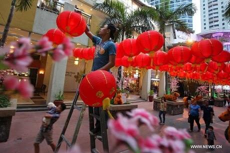 Chợ hoa Quảng Bá, Hà Nội vối nhiều loại hoa phuc vụ ngày Tết. (Ảnh:
