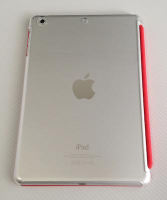 バッファローiPad mini用シェルケース「BSIPD712CHCR」とApple純正スマートカバー