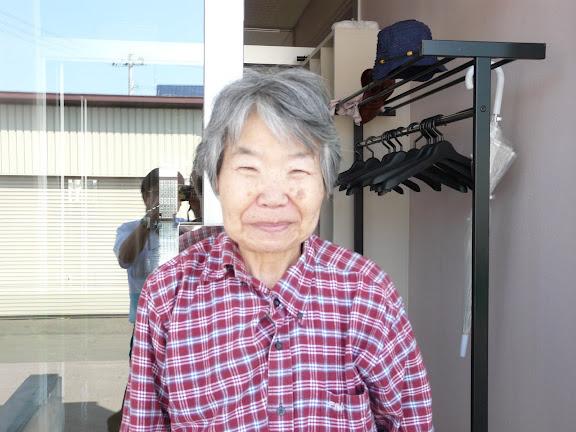 松本さん、笑顔です
