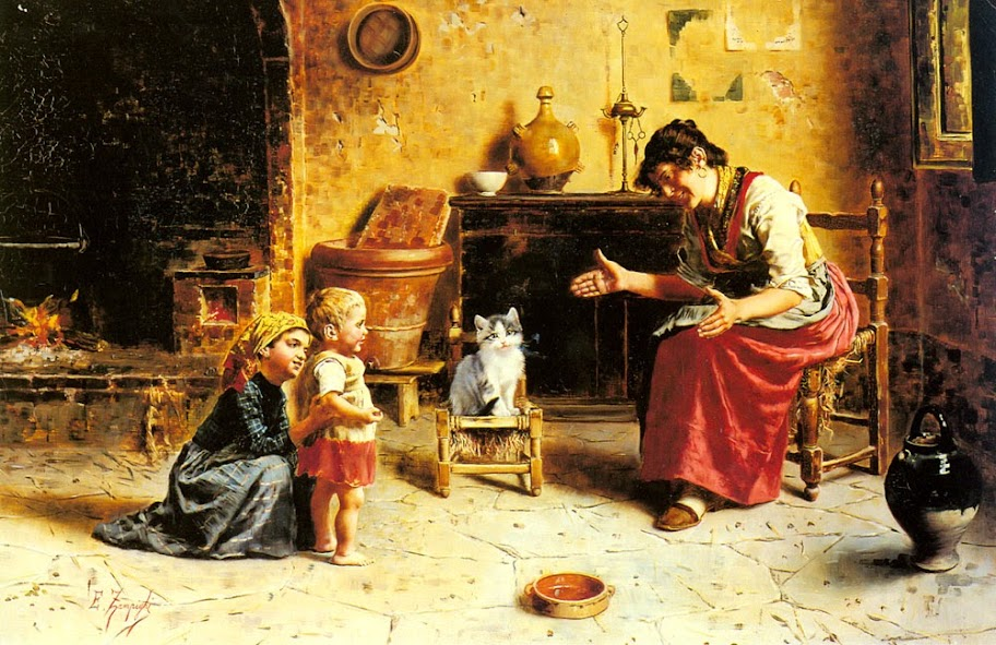 Eugenio Zampighi - A Child's First Step