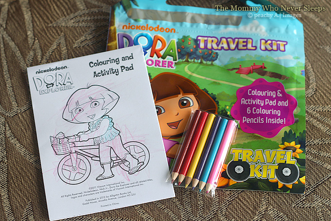 Dora The Explorer Travel Kit - Mommy Peach