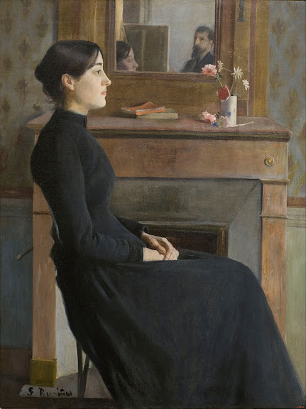 Santiago Rusiñol - Female Figure