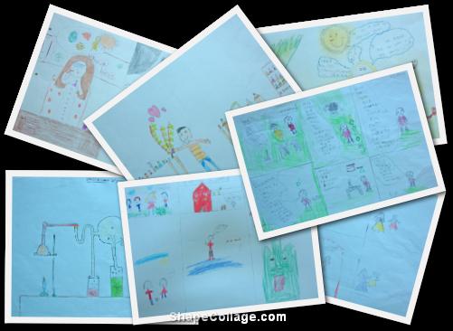 Concurso de Caricaturas, Historietas y Dibujos - Finalistas de 4 a 6 años