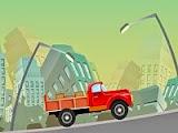 لعبة شاحنة تسليم البضائع