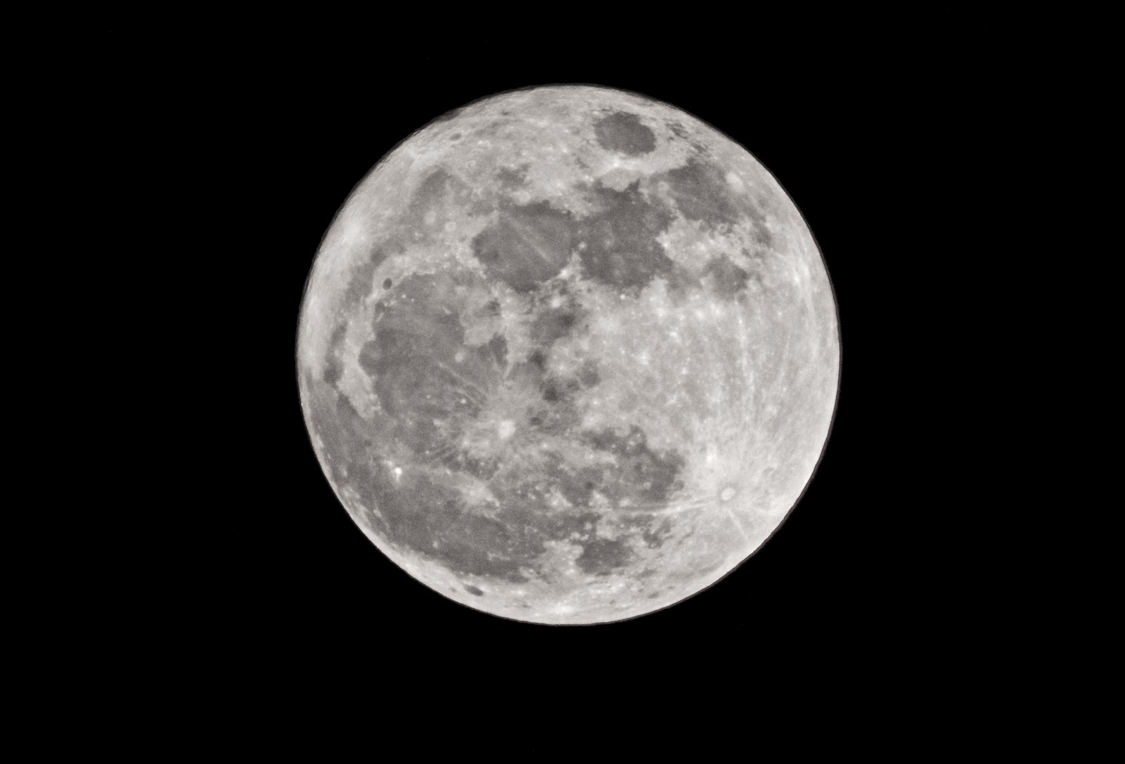 The State Of The Nation UK: The moon tonight
